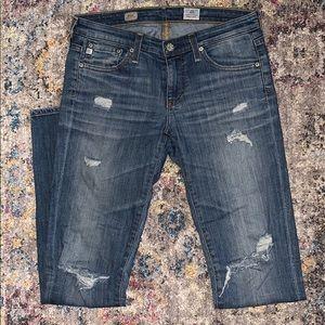 AG Legging Stilt cigarette Jeans Size 26R